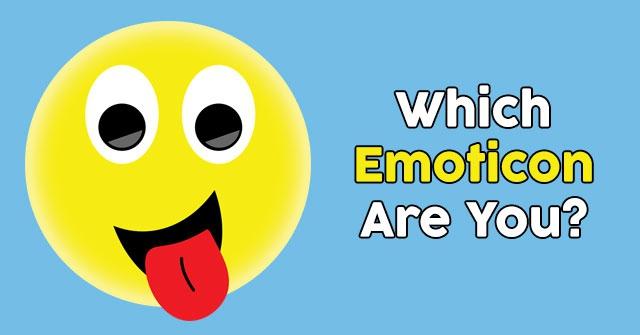 Which Emoticon Are You?