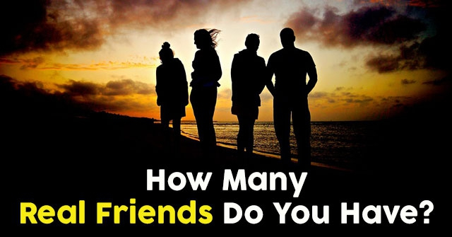 How Many Real Friends Do You Have?