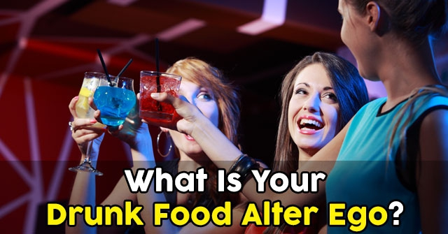 What Is Your Drunk Food Alter Ego?