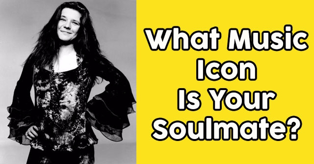 What Music Icon Is Your Soulmate?