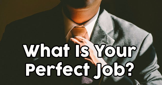 What Is Your Perfect Job?