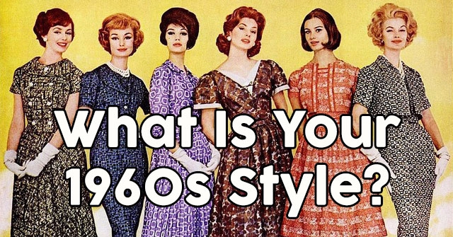 What Is Your 1960s Style?