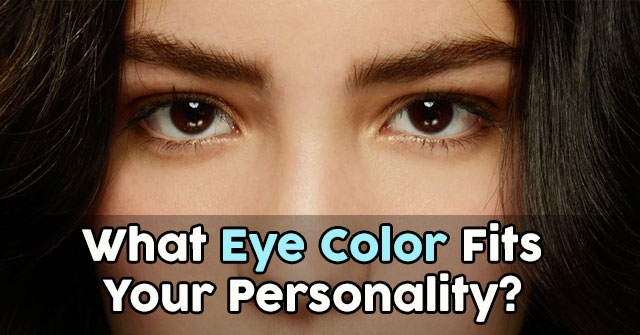 What Eye Color Fits Your Personality?