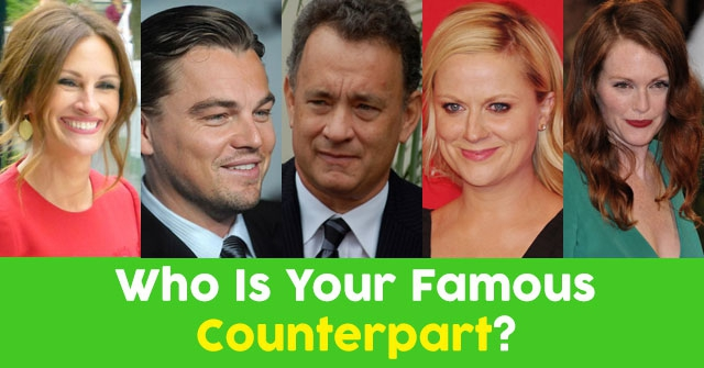 Who Is Your Famous Counterpart?