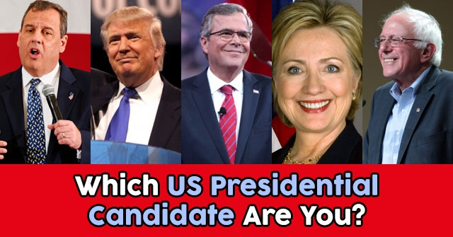 Which US Presidential Candidate Are You?