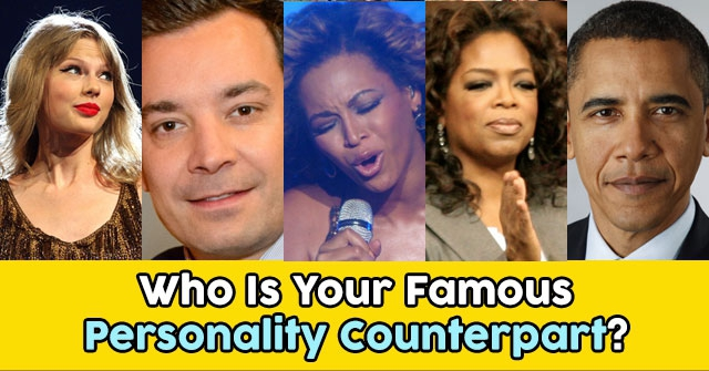 Who Is Your Famous Personality Counterpart?
