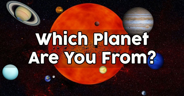 Which Planet Are You From Quizdoo