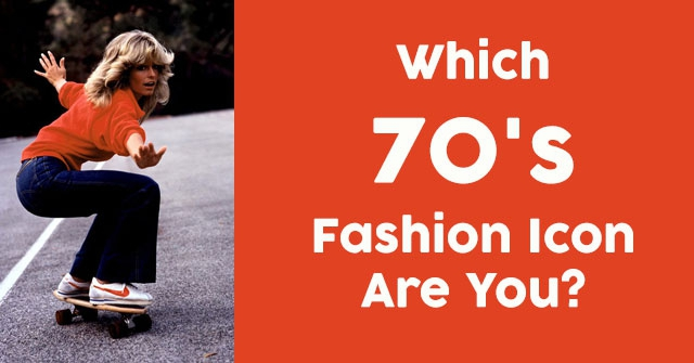 Which 70's Fashion Icon Are You?