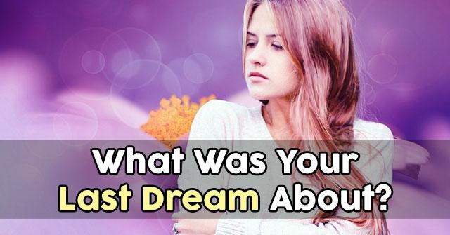 Quiz dream girl
