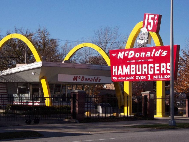 If we were to find any kind of fast food wrapper in your car, what chain would it belong to?