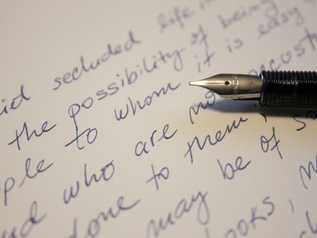 My handwriting tends to be _________.