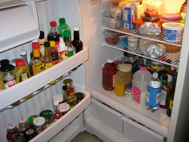 In my fridge you will find _____________.