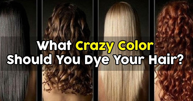 What Unnatural Hair Color Are You Quiz