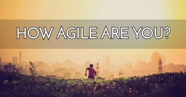 How Agile Are You?