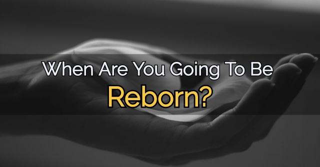 When Are You Going To Be Reborn?