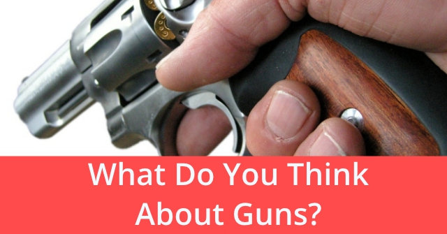 What Do You Think About Guns?