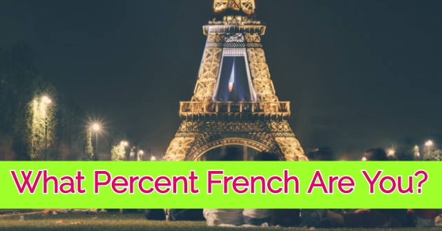 What Percent French Are You?