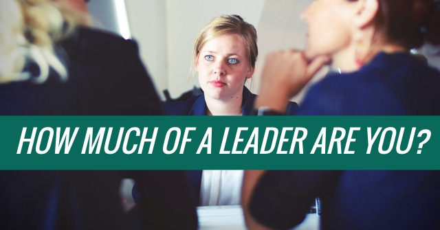 How Much Of A Leader Are You?