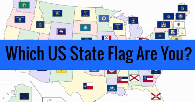 Which US State Flag Are You?