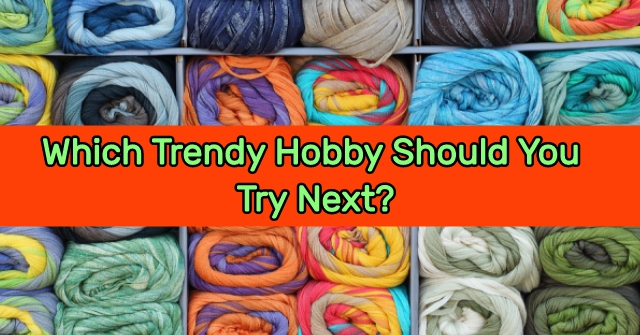 Which Trendy Hobby Should You Try Next?