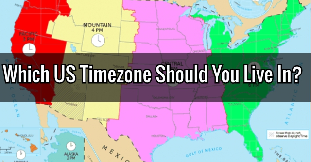 Which US Timezone Should You Live In?