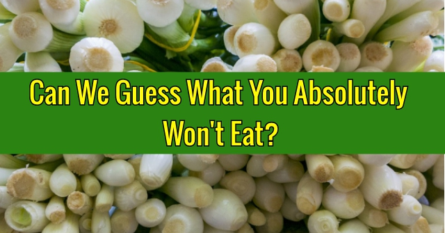 Can We Guess What You Absolutely Won't Eat?