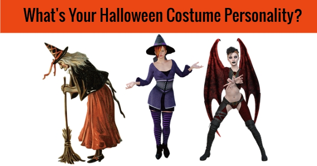 What's Your Halloween Costume Personality?