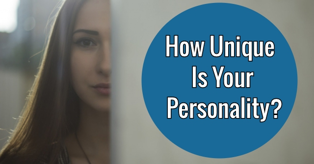 How Unique Is Your Personality?