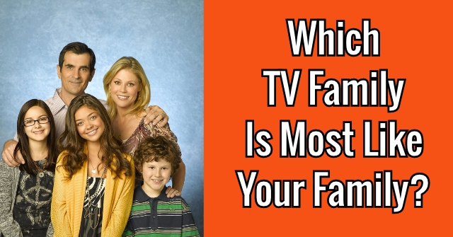 Which TV Family Is Most Like Your Family?