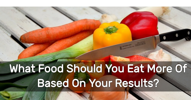 What Food Should You Eat More Of Based On Your Results?
