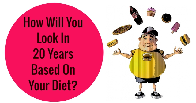 How Will You Look In 20 Years Based On Your Diet?