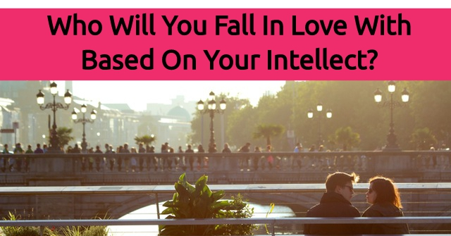 Who Will You Fall In Love With Based On Your Intellect?