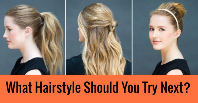 What Hairstyle Should You Try Next? | QuizDoo
