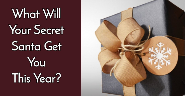 What Will Your Secret Santa Get You This Year?