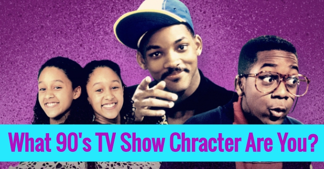 What 90's TV Show Chracter Are You?