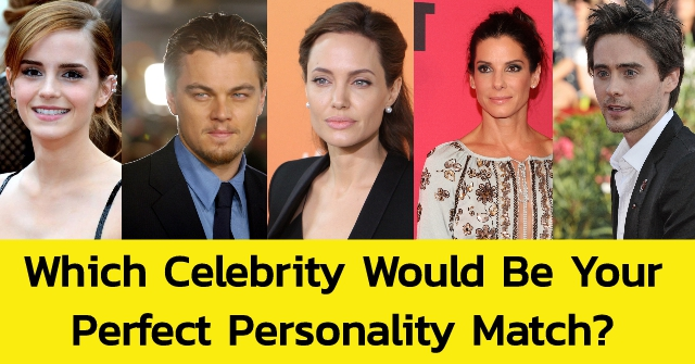 Which Celebrity Would Be Your Perfect Personality Match?