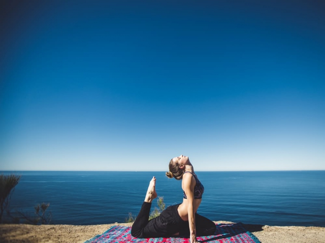 Would you rather do yoga or go hiking?
