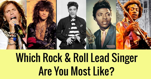 Which Rock & Roll Lead Singer Are You Most Like?
