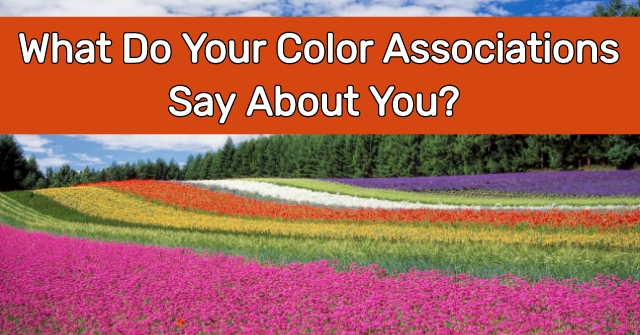 What Do Your Color Associations Say About You?