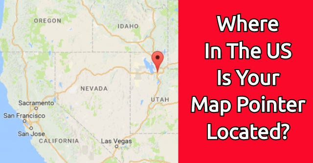 Where In The US Is Your Map Pointer Located?