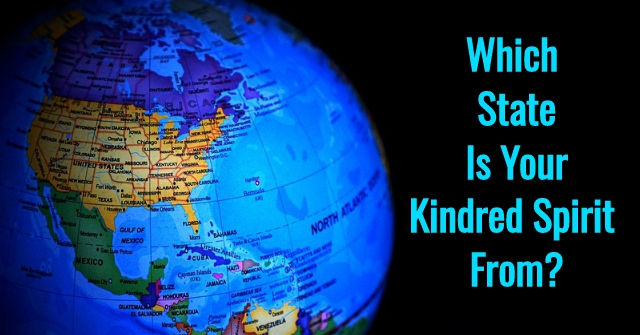Which State Is Your Kindred Spirit From?