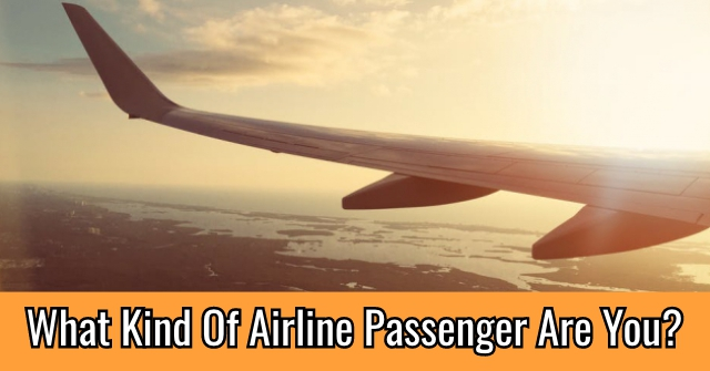 What Kind Of Airline Passenger Are You?