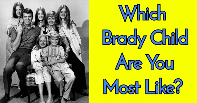 Which Brady Child Are You Most Like?
