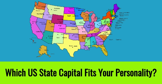 which of the famous us state capitals best fits your personality are you like a big city full of shops or one that is more focused on government work only