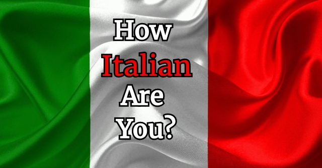 How Italian Are You?