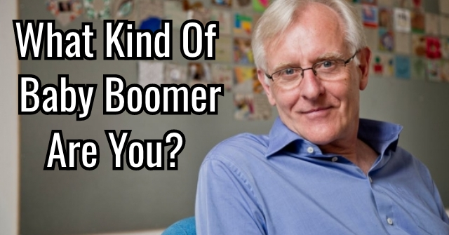 What Kind Of Baby Boomer Are You?