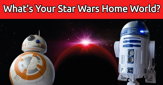 What's Your Star Wars Home World?