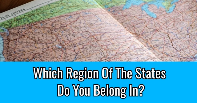 Which Region Of The States Do You Belong In?