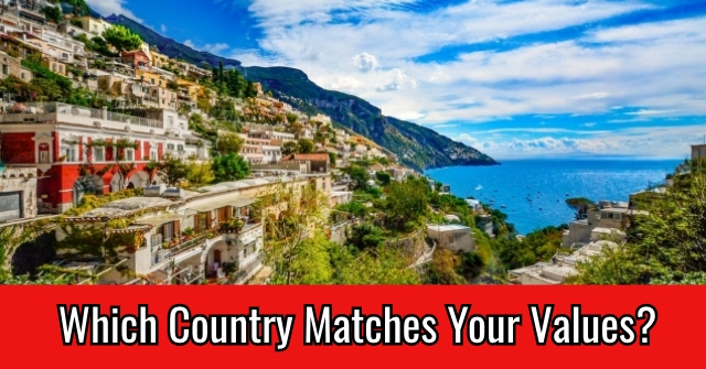 Which Country Matches Your Values?