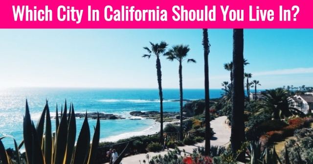 Which City In California Should You Live In?